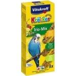 Vitakraft parkiet kracker vijgen/banaan-sesam/kiwi (3 IN 1)