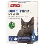 Beaphar dimethicare line-on kat tegen vlooien en teken (6 PIP 1 ML)