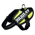 Julius k9 idc harnas / tuig neon groen (BABY 2/35-43CM)