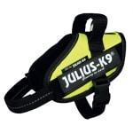 Julius k9 idc harnas / tuig neon groen (MINIMINI/40-53CM)