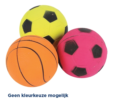 Happy pet sports balls neon