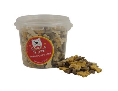 Dog treatz inimini/puppy 3 mix (870 ML 400 GR)
