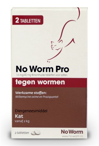 Kat no worm pro (2 TBL)