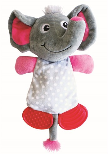Little rascals play teether olifant (23X17X8 CM)
