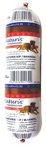 Naturis houdbaar kip/makreel (650 GR)