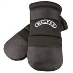 Trixie walker care beschermschoenen zwart 2 stuks (M 15X8 CM)