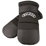 Trixie walker care beschermschoenen zwart 2 stuks (XXXL 23X12 CM)
