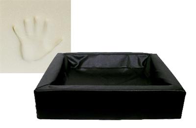 Bia bed hondenmand ortho zwart (BIA-70 85X70X15 CM)