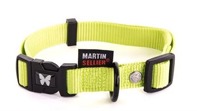 Martin sellier halsband nylon groen verstelbaar (10 MMX20-30 CM)
