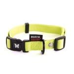 Martin sellier halsband nylon groen verstelbaar (25 MMX45-65 CM)