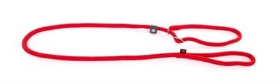 Retrieverlijn nylon rond rood (13 MMX180 CM)