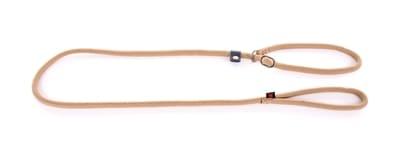 Retrieverlijn nylon rond beige (13 MMX180 CM)