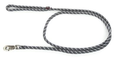 Looplijn longe nylon reflecterend grijs (13 MMX200 CM)