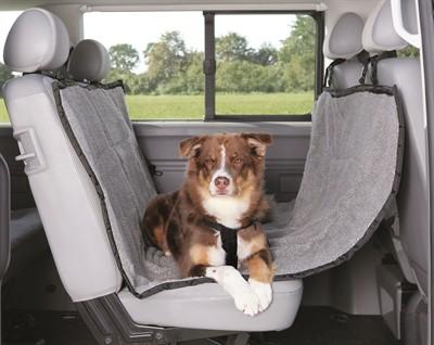 Trixie auto-hondendeken 4-seasons zwart grijs (160X145 CM)