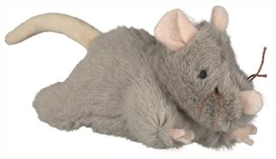 Trixie pluche muis met geluid (15 CM)