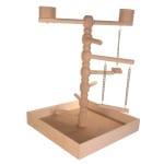 Trixie speelplaats hout voor agapornis en parkiet (41X41X55 CM)
