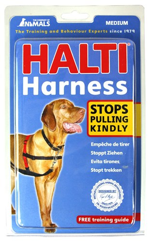 Halti harness zwart (MEDIUM)