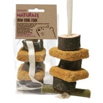Rosewood naturals gnaw stone stack knaagsteen hanger (10X6X12 CM)