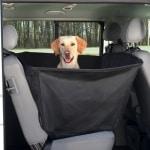 Trixie auto-hondendeken met deurbescherming zwart (150X135 CM)