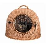 Trixie rotan kattenmand met deur (ø 50CM)