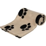Trixie barney fleece hondendeken beige (150X100CM)
