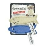 Grumpy cat sardines met catnip (2 STUKS 7 CM)