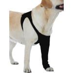 Suitical recovery sleeve hond zwart (S 45-61X23 CM)
