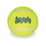 Kong squeakair tennisbal geel met piep (XL 10X10X10 CM)