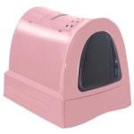Imac kattenbak zuma met schuiflade roze (40X56X42,5 CM)