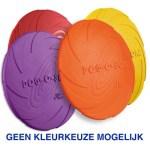 Rubber frisbee dog 0 soar assorti (18 CM)