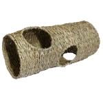 Rosewood naturals gevlochten jumbo tunnel (50X20 CM)