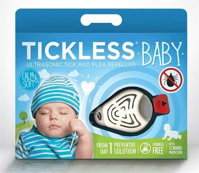Tickless teek en vlo afweer voor baby's beige