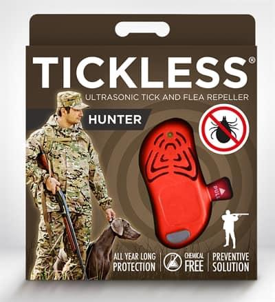 Tickless teek en vlo afweer voor jagers  fluoriserend oranje