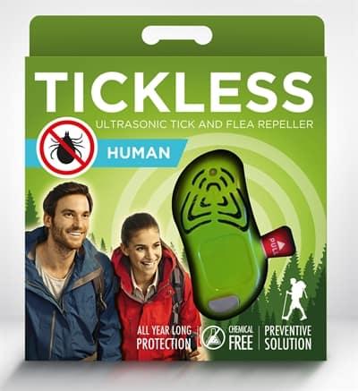 Tickless teek en vlo afweer voor mens groen
