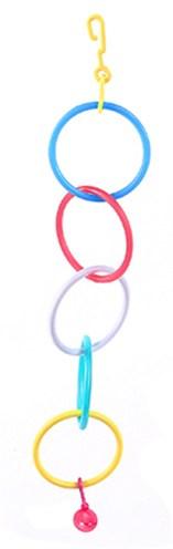 Happy pet gym ringen gekleurd met bel