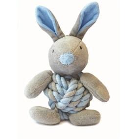 Little rascals knottie bunny touwbal konijn blauw