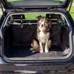 Trixie autodeken kofferbak zwart (120X150 CM)