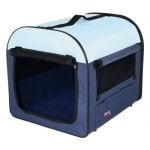 Trixie reismand donkerblauw / lichtblauw (47X32X32 CM)
