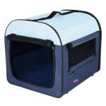 Trixie reismand donkerblauw / lichtblauw (55X40X40 CM)