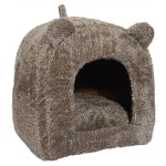 Rosewood kattenmand iglo teddy bruin (38X38X40 CM)