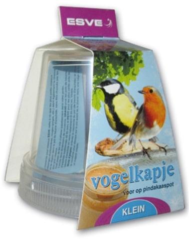 Esve vogelkapje voor pindakaaspot (KLEIN)