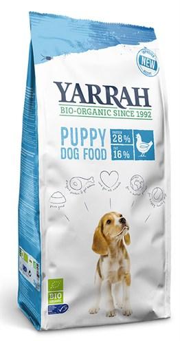 Yarrah dog biologische brokken puppy kip