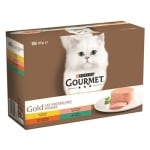 Gourmet gold 12-pack fijne mousse (12X85 GR)