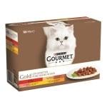 Gourmet gold 12-pack fijne hapjes (12X85 GR)