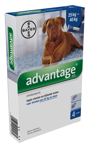 Bayer advantage hond 4 pipetten