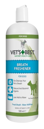 Vets best breath freshener hond (500 ML)