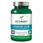 Vets best comfort calm hond (60 TBL)