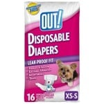 Out! disposable diapers (XS / SMALL 16 ST)