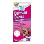 Out! disposable diapers (MEDIUM / LARGE 14 ST)