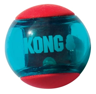 Kong squeez action rood
